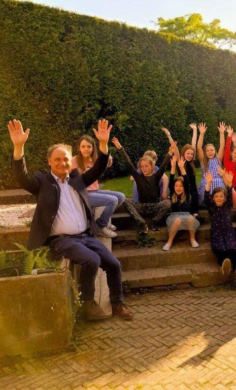 LimburgseKoorschool en wethouder Schoenmakers 28mei2021